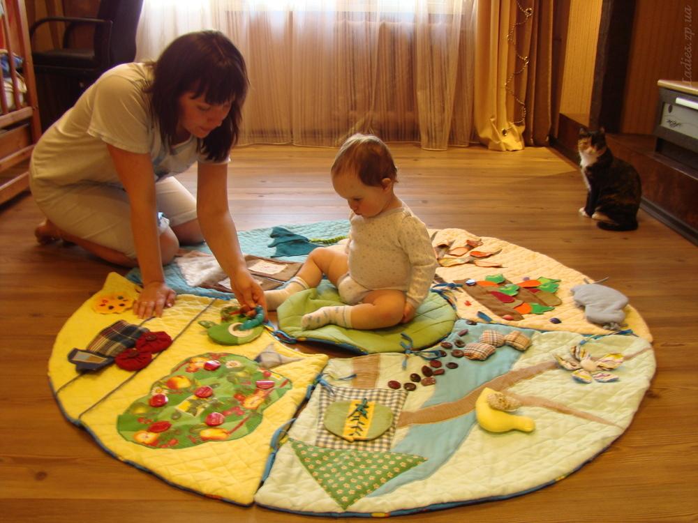 Развивающие коврики своими руками фото