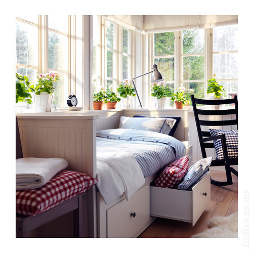 HEMNES Daybed frame with 3 drawers  IKEA  Детская