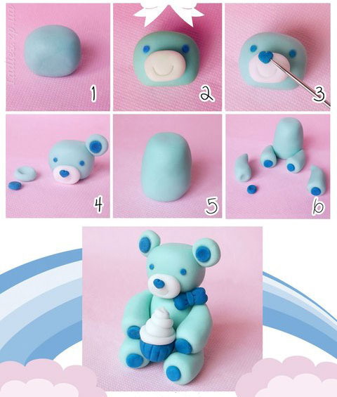 Фигурки из мастика для торта своими руками фото