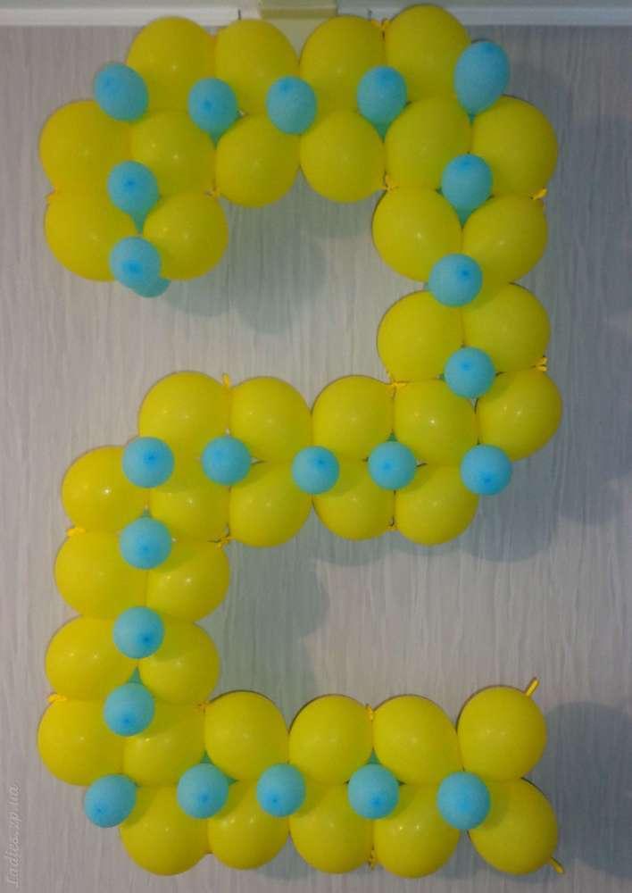 Как сделать цифру 4 из шаров своими руками пошаговая 26