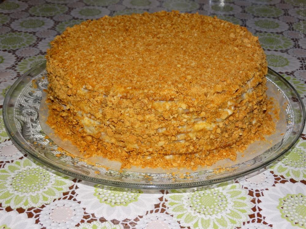 Торт наполеон в домашних условиях рецепт простой