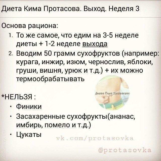 Диета Кима Протасова: отзывы худеющих, описание диеты