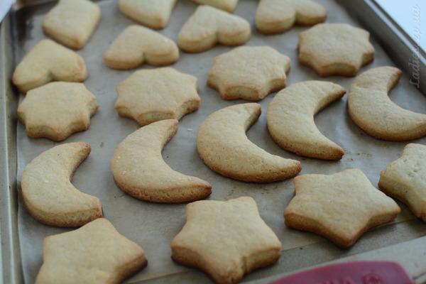 Песочного печенья с маргарином и кефиром