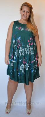 170.00 грн.  Сарафан-разлетайка, очень легкий и невесомый,цветов много, нарисованы вручную цветы.