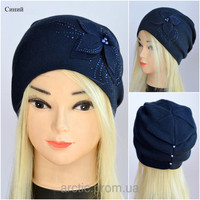 Как сшить женскую шапочку из ткани 56